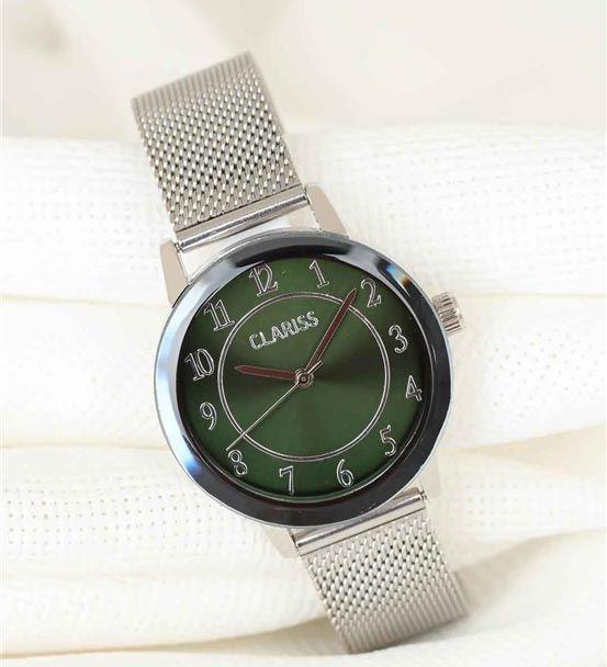 Silver Renk Kaplama Hasır Kordonlu Yeşil Renk İç T