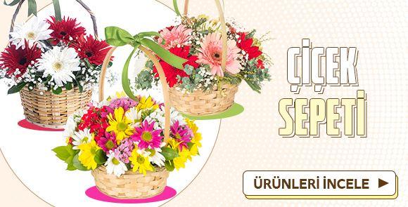 Süper İndirimli Çiçek Sepeti